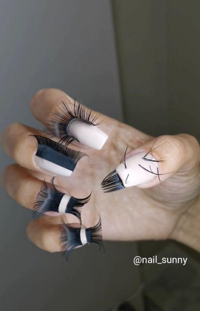 Finger - @nail_sunny