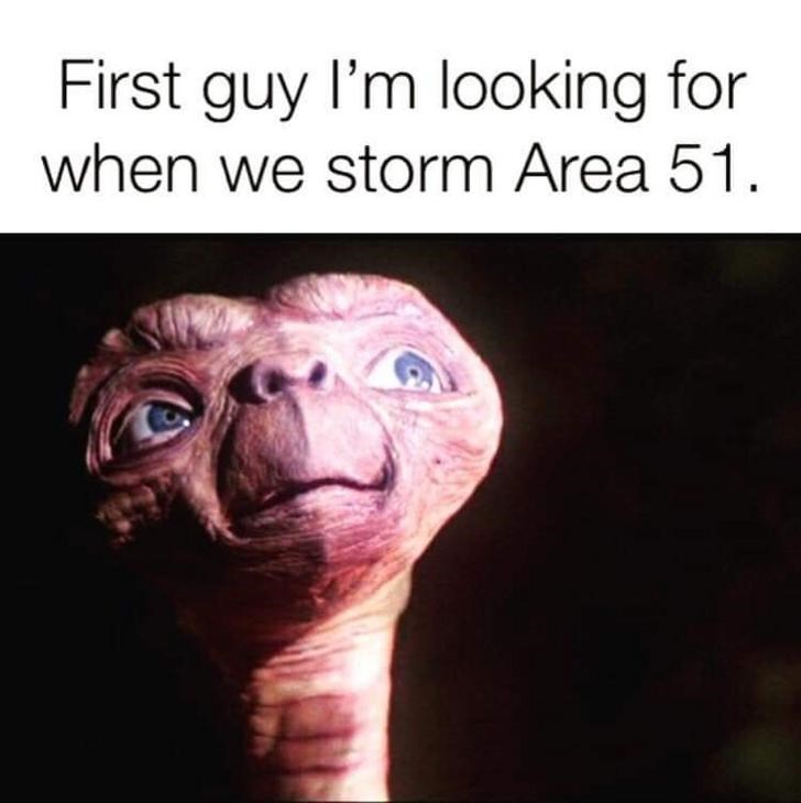 Skin - First guy l'm looking for when we storm Area 51.