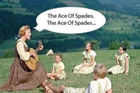 Adaptation - The Ace Of Spades. The Ace Of Spades..