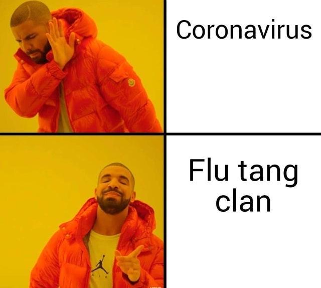 Yellow - Coronavirus Flu tang clan