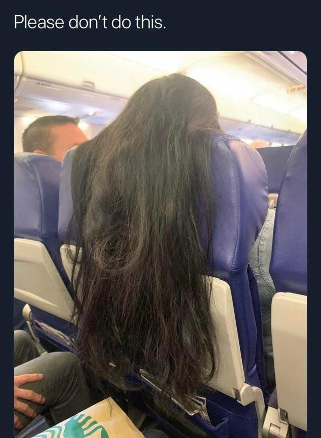 Hair - Please don't do this.