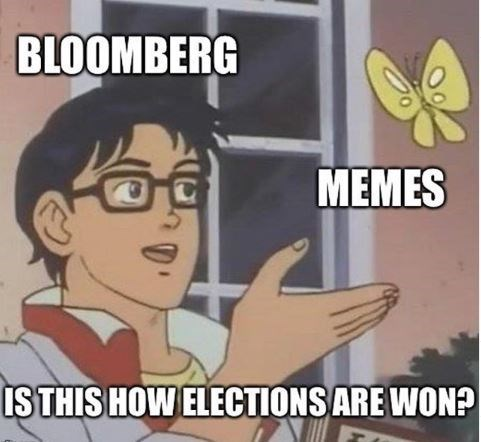 Cartoon - BLOOMBERG MEMES ISTHIS HOW ELECTIONS ARE WON?