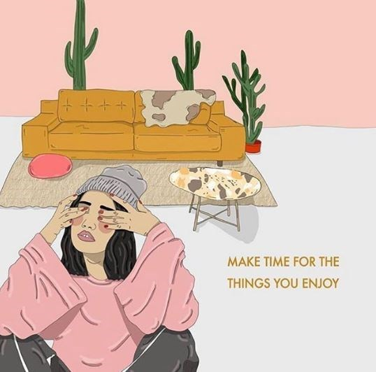 Cactus - MAKE TIME FOR THE THINGS YOU ENJOY