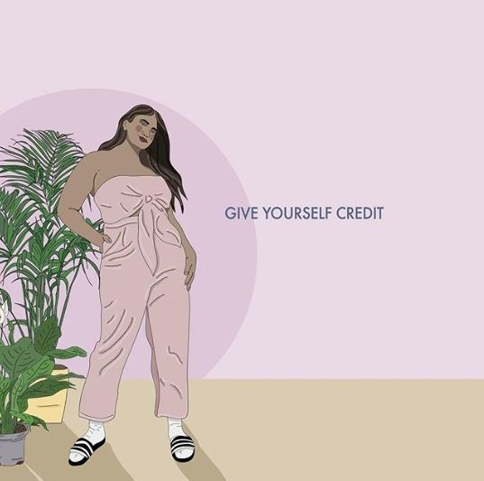 Standing - GIVE YOURSELF CREDIT