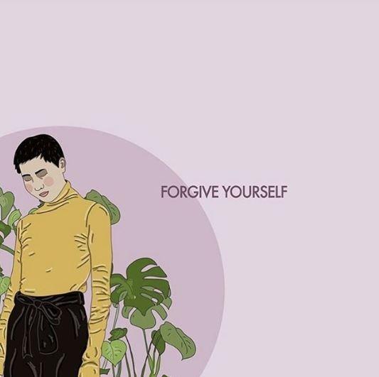 Cartoon - FORGIVE YOURSELF