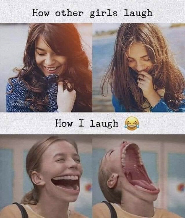 Hair - How other girls laugh How I laugh