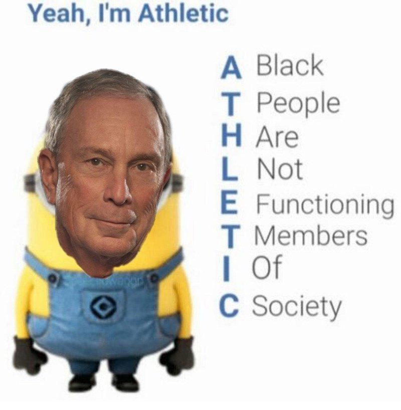 Text - Yeah, I'm Athletic A Black T People H Are L Not E Functioning T Members I Of C Society