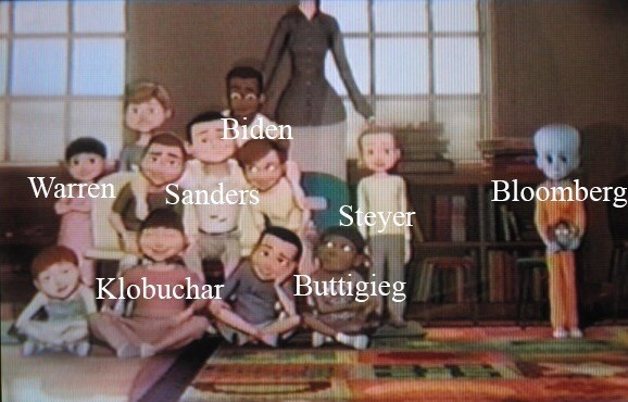 People - Biden Warren Sanders Bloomberg Steyer Klobuchar Buttigieg