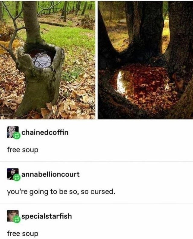 Tree - chainedcoffin free soup annabellioncourt you're going to be so, so cursed. specialstarfish free soup