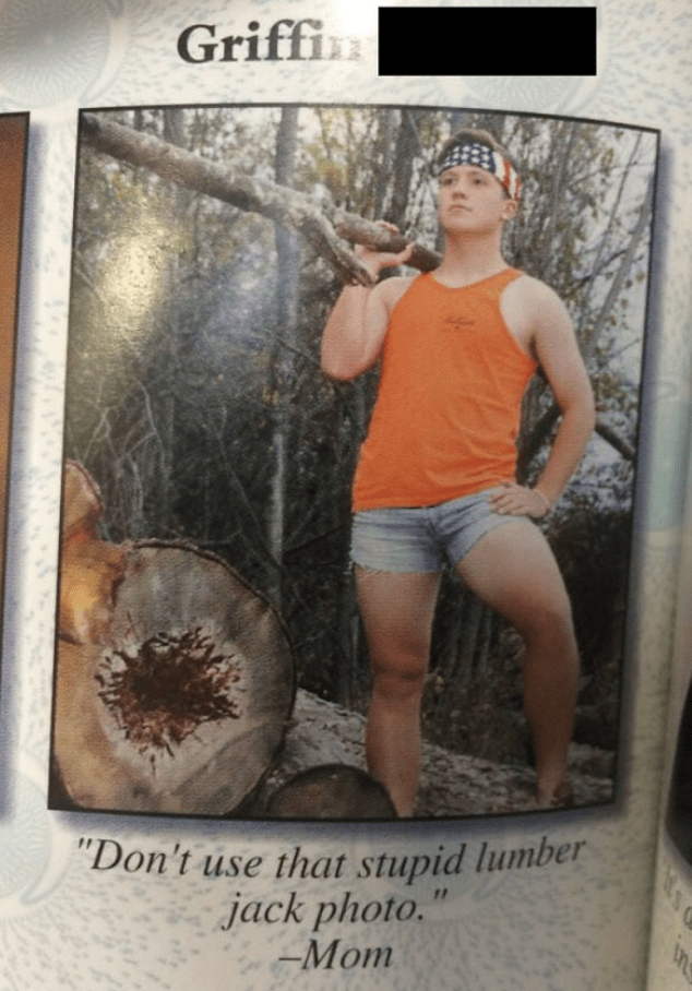 """Poster - Griffin """"Don't use that stupid lumber jack photo."""" -Mom"""