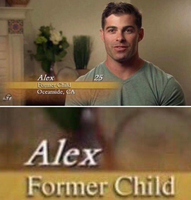 Font - Alex Former Child Oceanside, CA 25 Alex Former Child