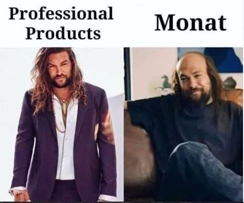 Hair - Professional Products Monat