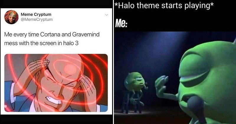 Funny memes about Halo