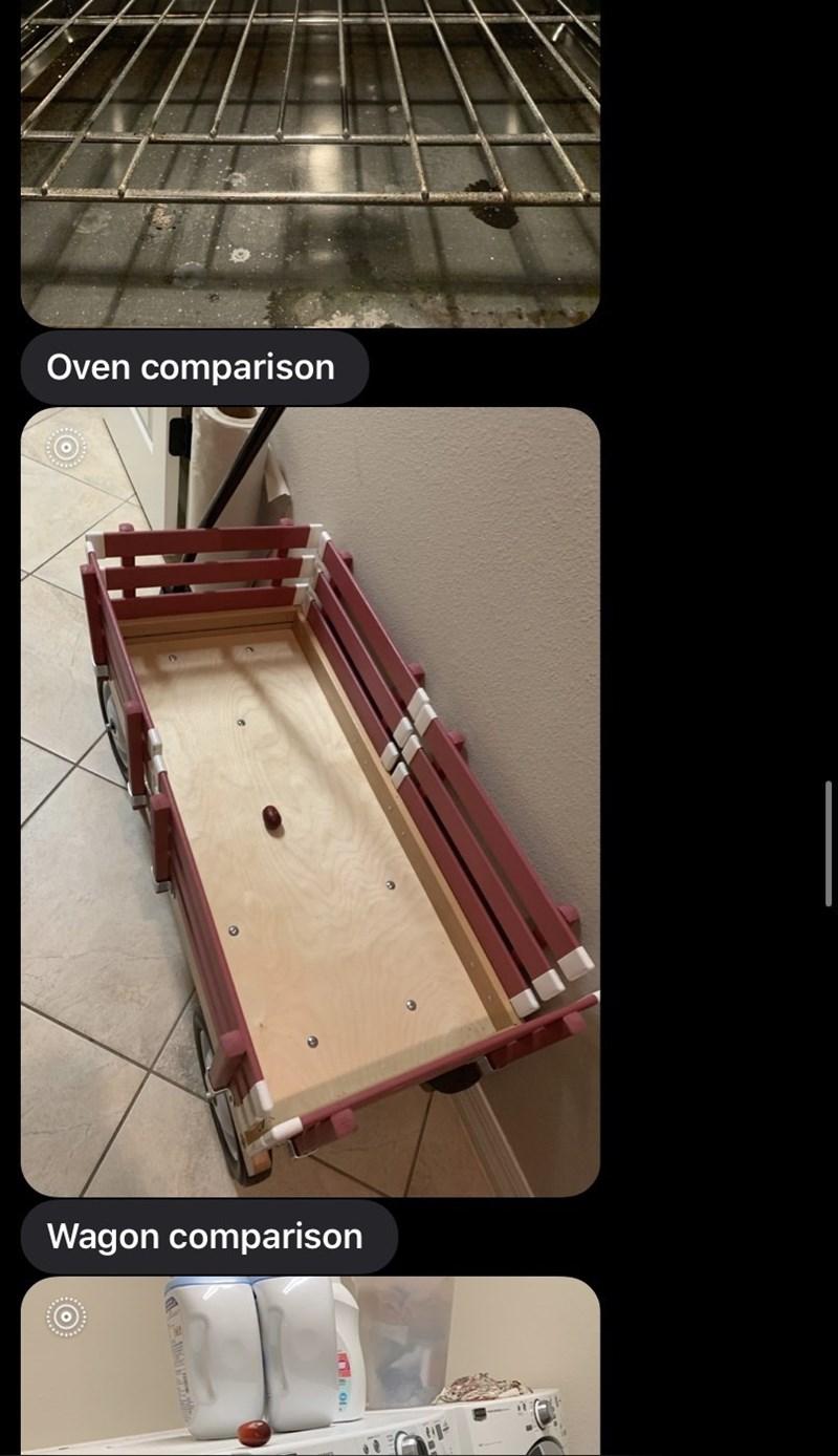 Musical instrument - Oven comparison Wagon comparison