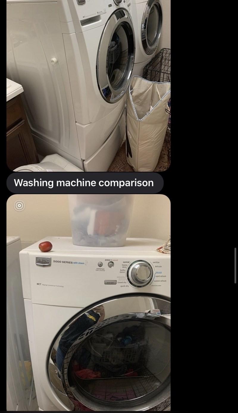Washing machine - Washing machine comparison MAYTAG 5o00 SERIES with steam power cancel sanitire heavw duty bulky
