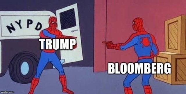 Fictional character - NY PO TRUMP BLOOMBERG imgflip.com
