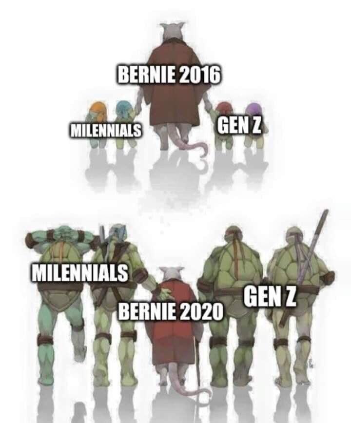 Soldier - BERNIE 2016 MILENNIALS GEN Z MILENNIALS GEN Z BERNIE 2020