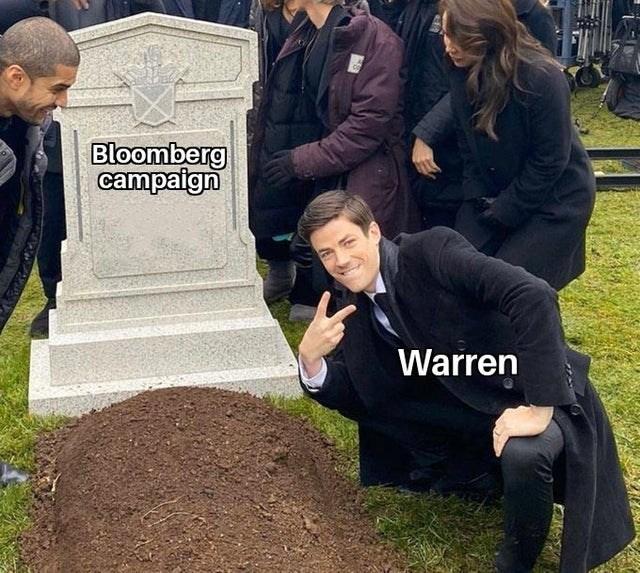Grave - Bloomberg campaign Warren