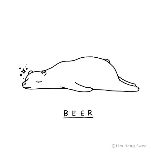 White - BEER ©Lim Heng Swee