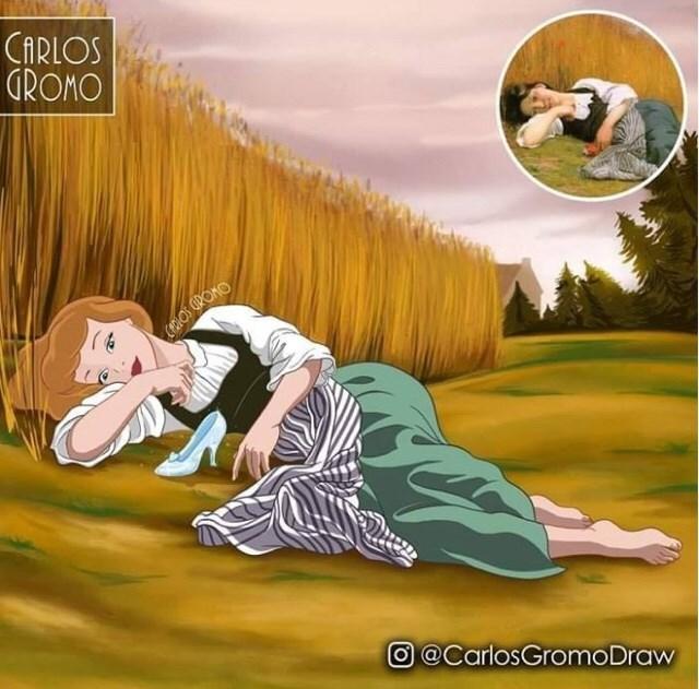 Cartoon - CARLOS GROMO CEROS GROMO O@CarlosGromoDraw