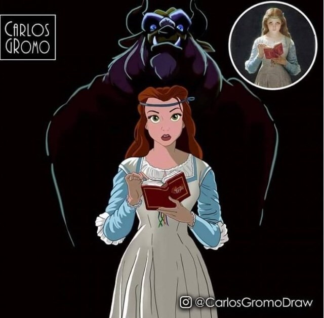 Animated cartoon - CARLOS GROMO O @CarlosGromoDraw