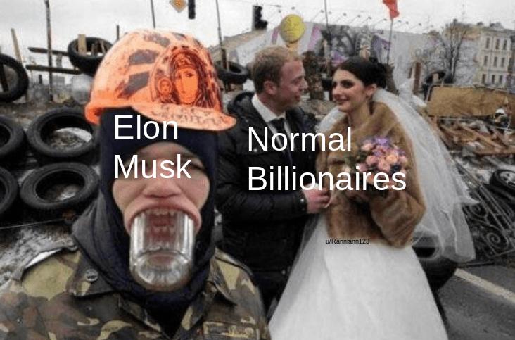 Event - Elon Normal Billionaires Musk WRannann123