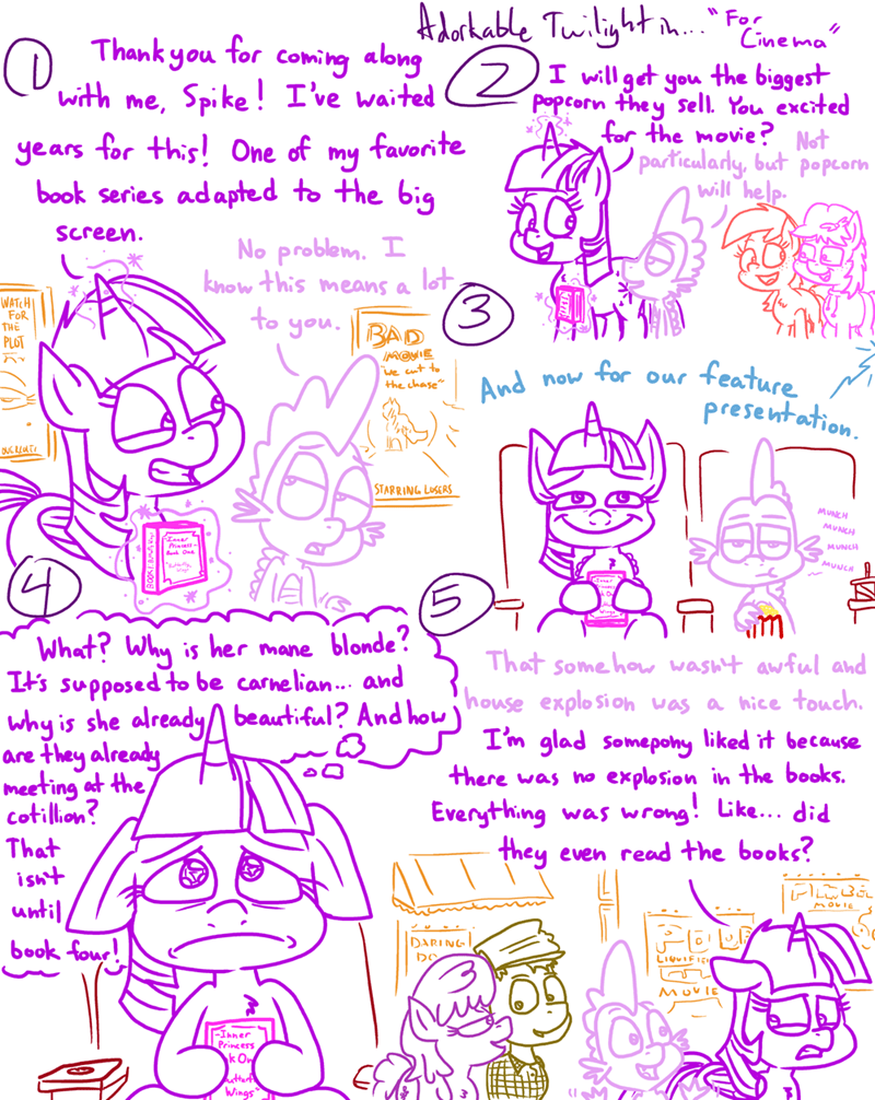 spike OC twilight sparkle adorkable twilight and friends - 9446713600