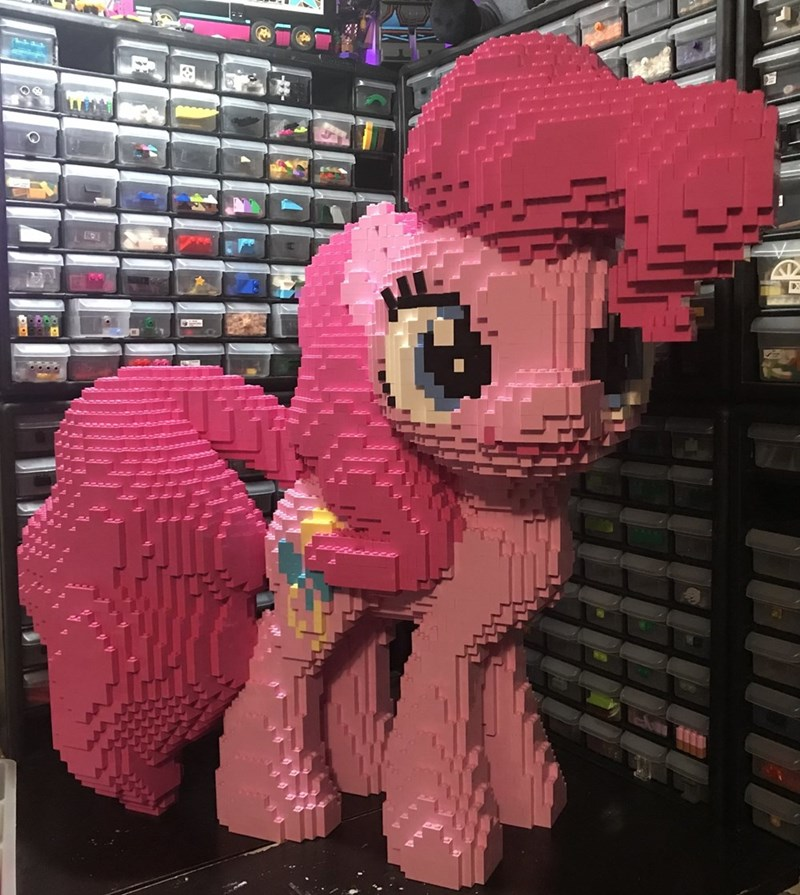 mc survival man lego pinkie pie - 9446728960