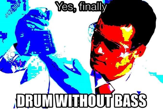 Graphic design - Yes, finally DRUM WITHOUT BASS EBRE