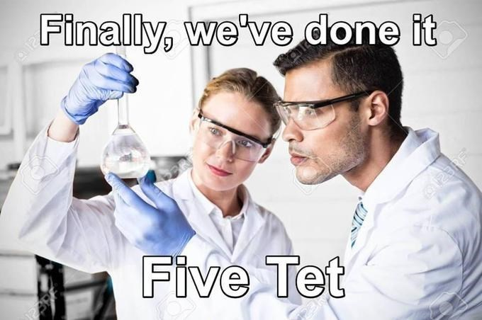 Chemical engineer - Finally, we've done it Five Tet
