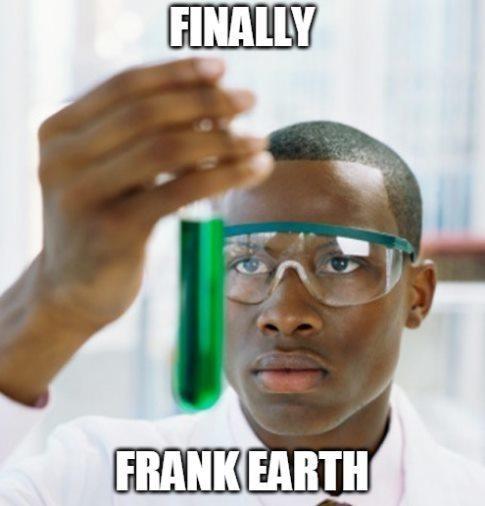 Forehead - FINALLY FRANK EARTH