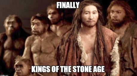 Human - FINALLY KINGS OF THE STONE AGE Indls.caT