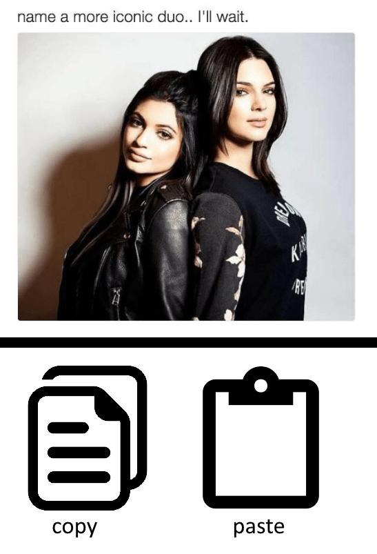 Technology - name a more iconic duo.. I'll wait. KA copy paste
