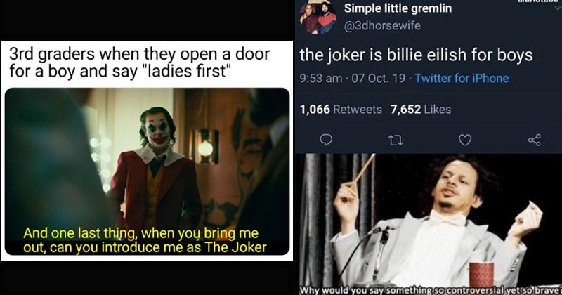 Funny dank memes about 'The Joker'