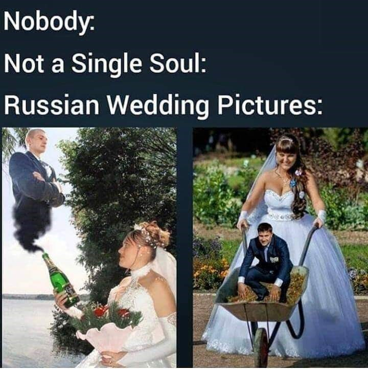 Photograph - Nobody. Not a Single Soul: Russian Wedding Pictures: