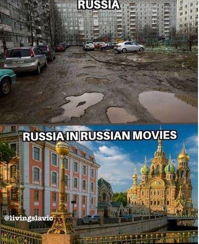 Landmark - RUSSIA RUSSIA IN RUSSIAN MOVIES @livingslavio