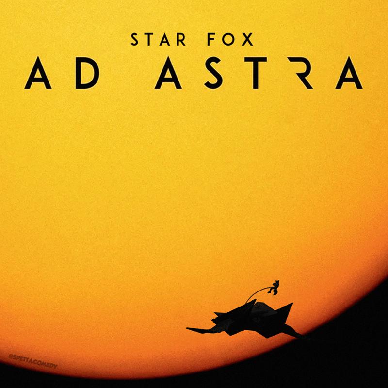 Cartoon - Text - STAR FOX AD ASTRA @SPETTACOMEDY