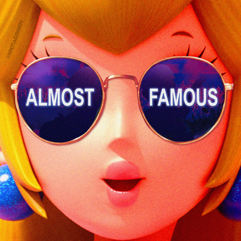 Cartoon - Eyewear - ALMOST FAMOUS ESPETTACOMEDY