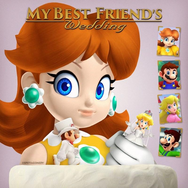 Cartoon - Cartoon - MY BEST FRIEND'S Wedding (M @SPETTACOMEDY