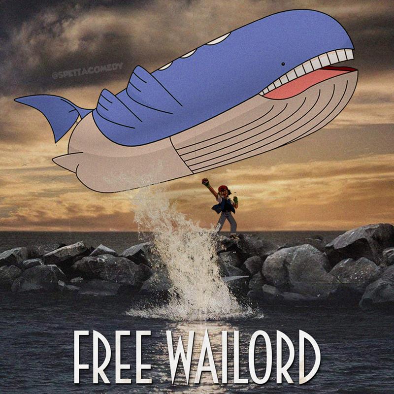 Cartoon - Airship - @SPETTACOMEDY FREE WAILORD