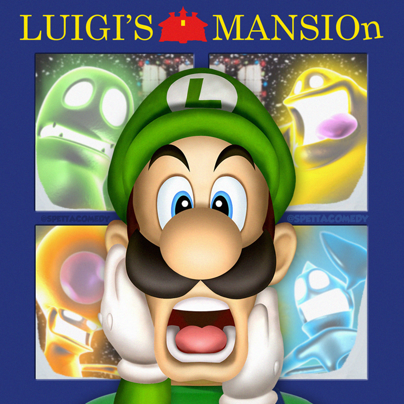 Cartoon - Cartoon - LUIGI'S MANSION @SPETTAC EDY