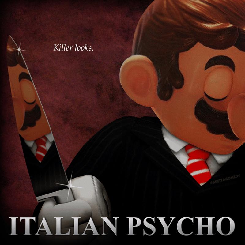 Cartoon - Cartoon - Killer looks. @SPETTACOMEDY ITALIAN PSYCHO