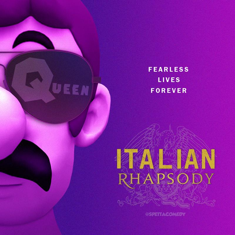Purple - FEARLESS LIVES UEEN FOREVER ITALIAN RHAPSODY @SPETTACOMEDY