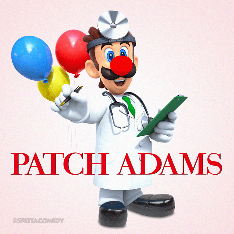 Cartoon - Balloon - PATCH ADAMS @SPETTACOMEDY