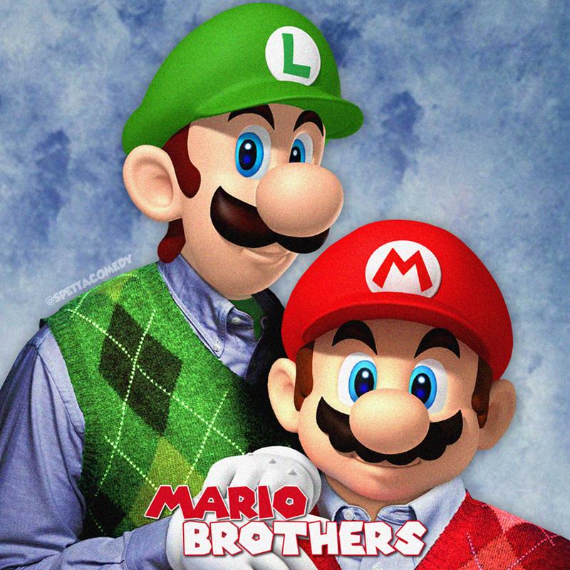 Cartoon - Animated cartoon - @SPETTACOMEDY MARIO BROTHERS