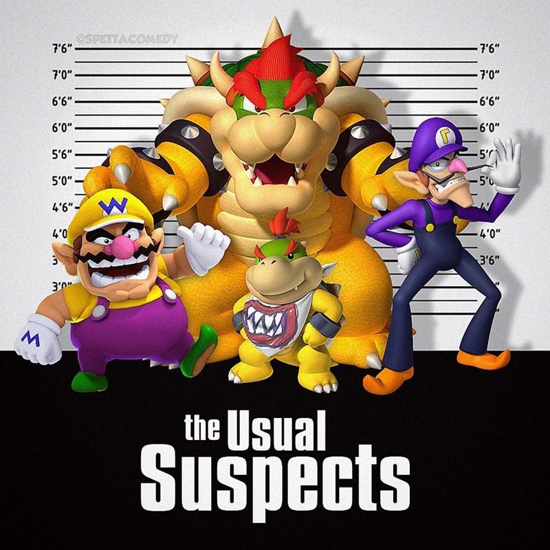 "Cartoon - Cartoon - OSPETTACOMEDY 7'6"" 7'6"" 7'0"" 7'0"" 6'6"" 6'6"" 6'0"" 6'0"" 5'6"" 5' 5'0"" 5'0 4'6""- 4'0 4'0"" 3'6"" 3'0"" the Usual Suspects"