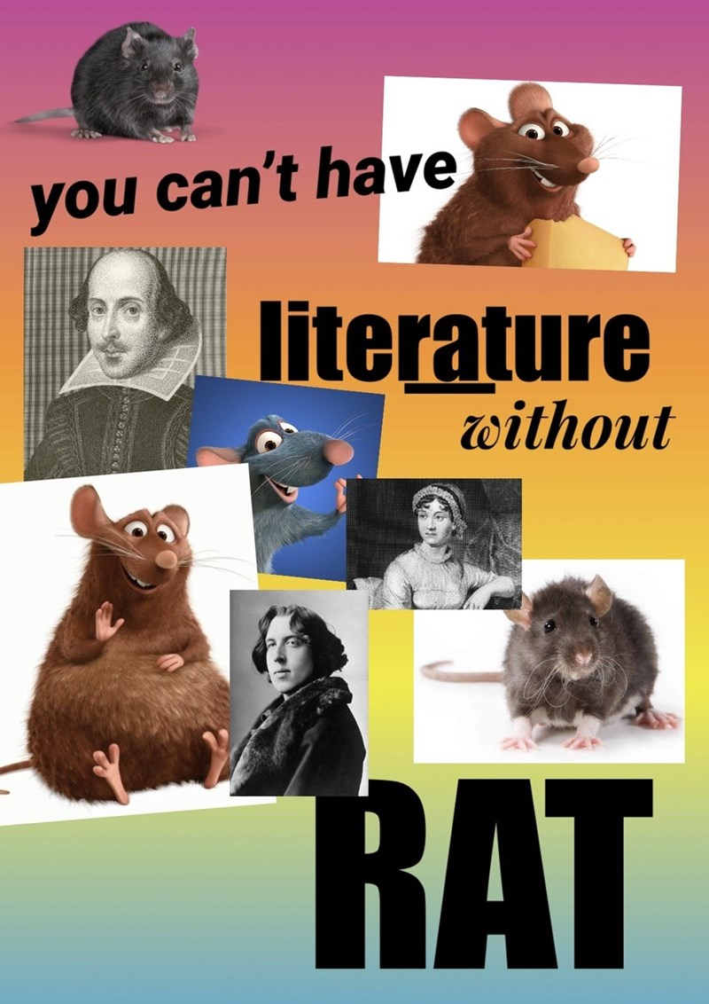 Adaptation - you can't have literature without RAT