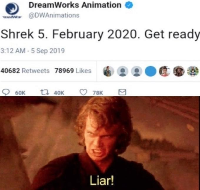 Anakin Has A Tantrum In These Dank Liar Memes Memebase Funny Memes