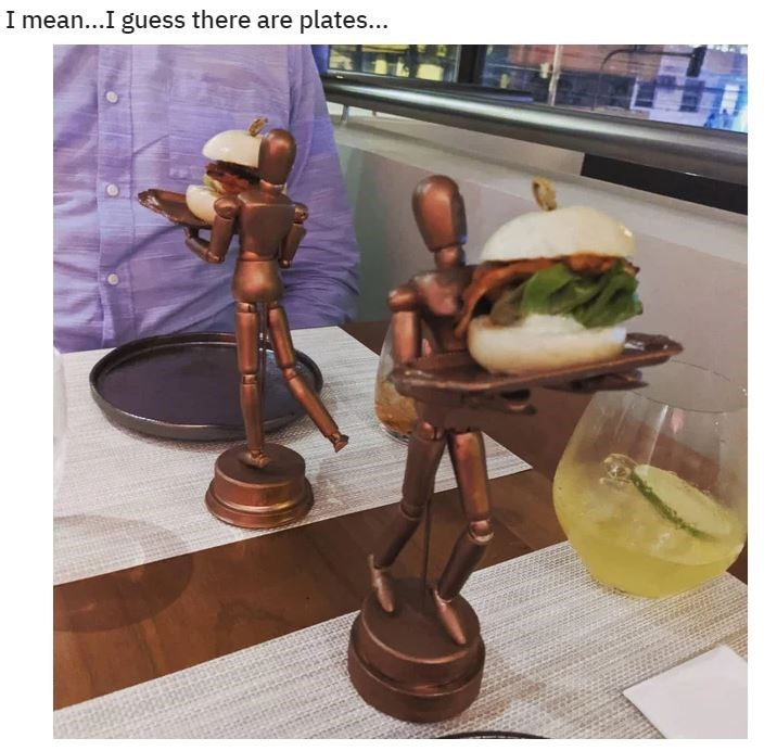 Figurine - I mean...I guess there are plates...