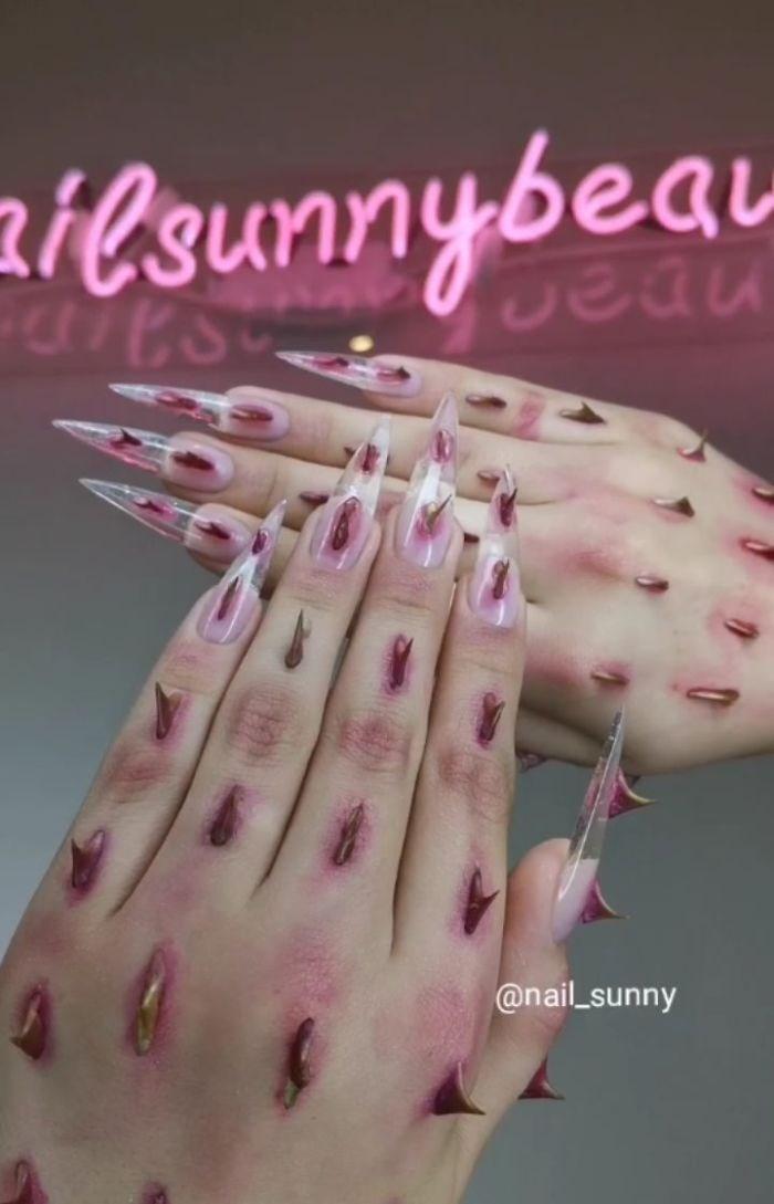 Pink - zi@sunnybeau @nail_sunny